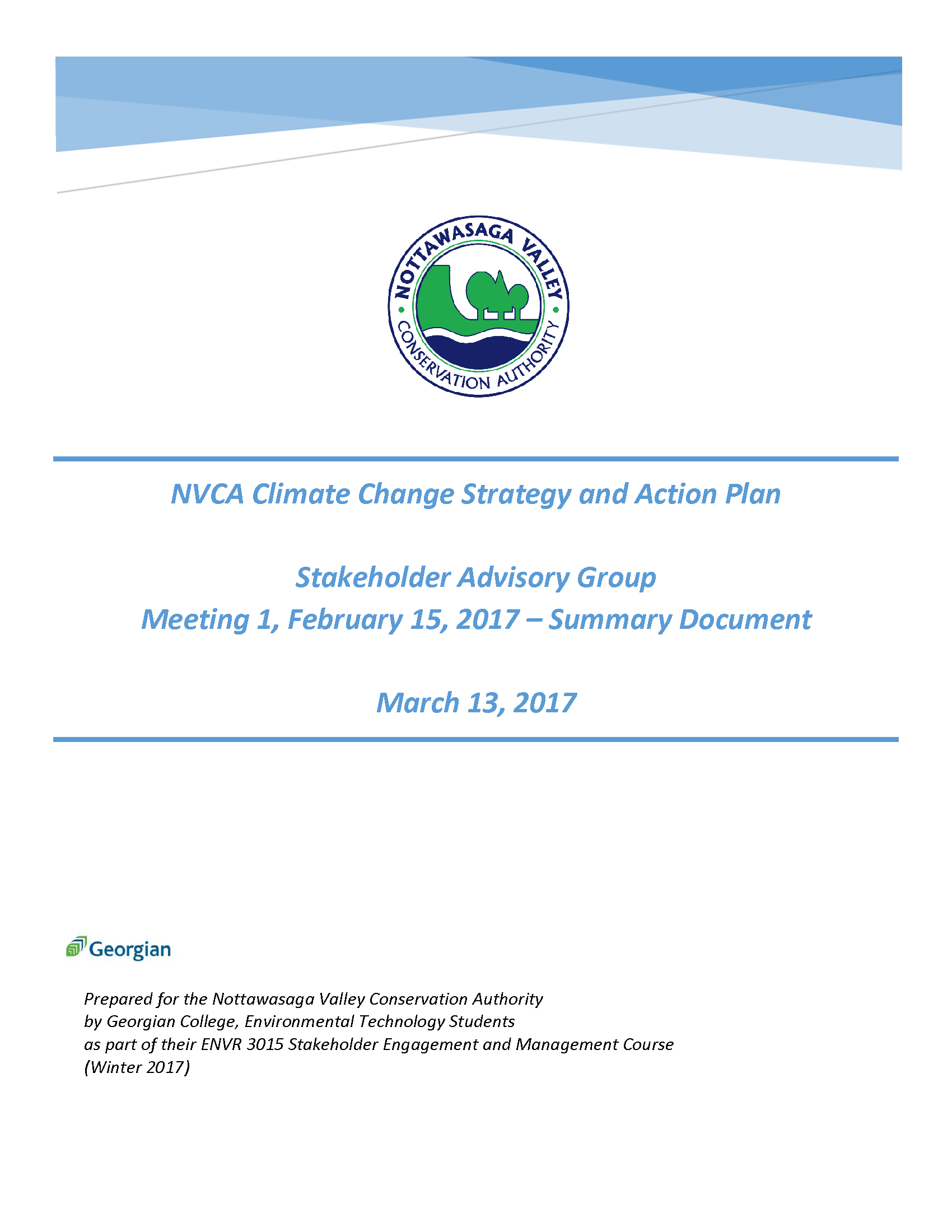 Climate Change Stakeholder Report Meeting 1 Title Page.png